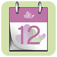 A calendar marking the 12th day of the month